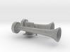 """1"""" Scale Dual Air Horn 3d printed"""