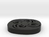 4 Hole Square Flower Button 13/16 3d printed