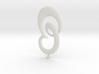 Littlepixel Necklace BIGGER for metal tolerances 3d printed