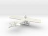Morane Saulnier N & pilot 1/144th scale  3d printed