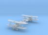 1/288 Airco D.H.5 set 3d printed