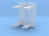 Kleine abri met glaswand schaal N 3d printed