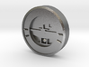 Aviation Button - Turn Coordinator 3d printed