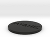by kelecrea, engraved: JAY&HEZ 3d printed