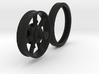 Mack Truck Wheel (Narrow) 3d printed