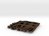 Square Pendant_Double Grids 3d printed