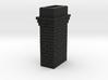 Brick Chimney 03 7mm scale 3d printed