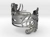 Art nouveau ring- lilys  3d printed