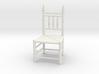 1:24 Pilgrim's Chair 3d printed