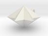 pyramid 6star charm 3d printed