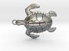 Pendant Turtle01 3d printed