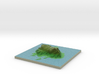 Terrafab generated model Tue Jan 21 2014 23:02:41  3d printed