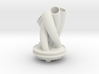Vase for a bendy stemmed flower V2Xref (1) 3d printed