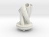 Vase for a bendy stemmed flower V2Xref (1) 3d printed