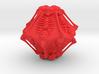 Skeleton D10 ( 10-sided die ) 3d printed