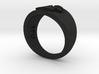 YFU Simple Logo Ring 3d printed