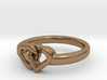 Entangled Love Small Sz19 3d printed