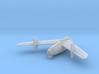 1/200 Junkers EF 128 3d printed