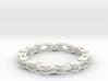 bike chain bracelet 3d printed