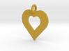 heart pendants 3d printed