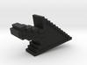 Pixel Click Pendant - Earring 3d printed arrow