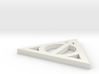 Deathly Hallows Symbol 3d printed