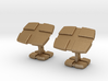 CheckeredCufflinks 3d printed