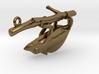 Chameleon Pendant Head 3d printed