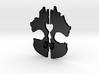 CoD: Ghosts Pendant 3d printed
