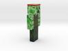 6cm | HissTheCreeper 3d printed