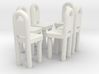 Dining Chairs 1  3d printed