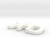 Khd keychain 3d printed