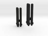 Sunlink - Seeker Tri-Missiles x2 3d printed