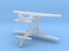Cessna 172 - Set of 2 - Nscale 3d printed