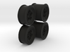 dNano Countech true to scale wheels 3d printed