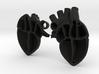 2 5cm heart 3d printed