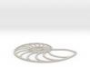 Nautilus Wireframe | pendant 3d printed