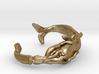Whale Vs Squid Bracelet 3d printed