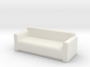 Comfy Sofa OO Scale 3d printed