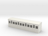 009 colonial 4 compartment 1st coach 3d printed