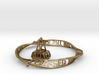 Roosevelt Island Mobius Bracelet with Tram Charm 3d printed