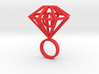 Ring-diamond-moving Part size 9 3d printed
