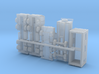 Construction Site Trucks 1 1/285 6mm 3d printed