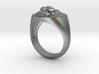 Lion signet ring 3d printed