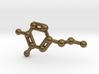 Dopamine Molecule Necklace Keychain 3d printed
