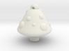 shroom pendant  3d printed