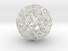 Sphere Optimized Using Natural Selection 3d printed