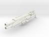"""Feuer Frei!"" scatter blaster (13 cm length) 3d printed"
