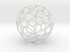 PentagonalHexecontahedron 70mm 3d printed