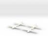 Waco Glider- 1/600 -(x4) 3d printed
